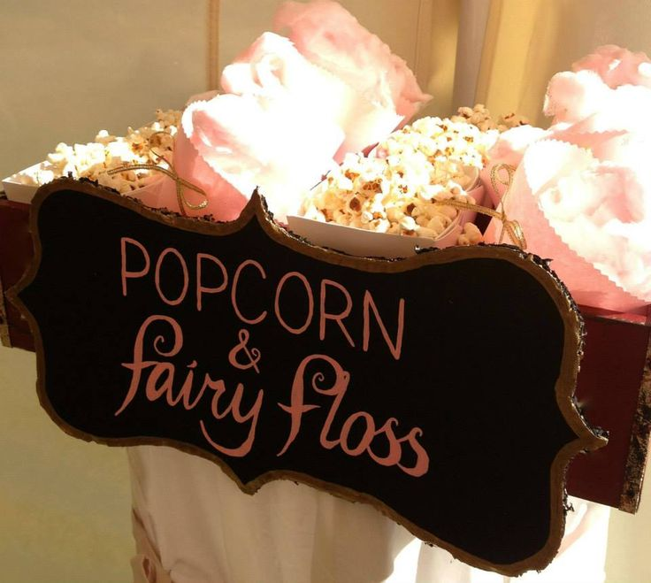 Popcorn and Fairy Floss