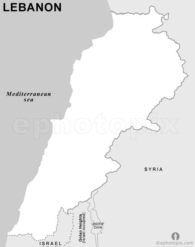The 25 best Lebanon map ideas on Pinterest