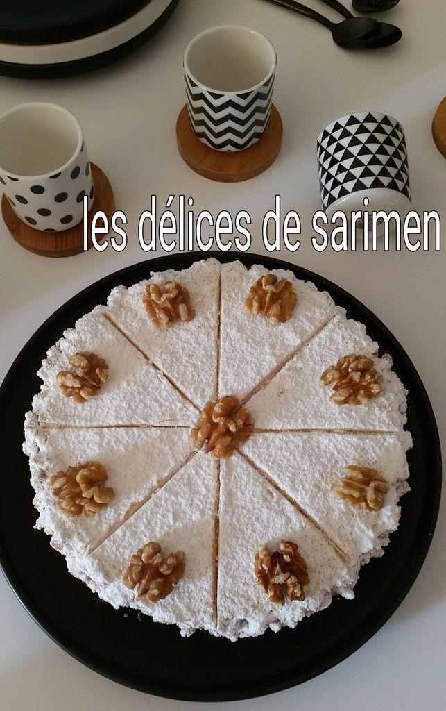 Gâteau Castel aux noix