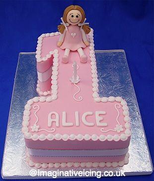 10 best number 1 birthday cake girl images on Pinterest Number