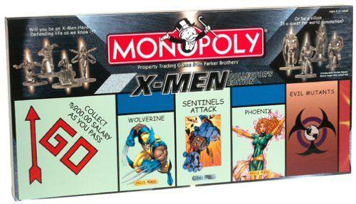 X Men Monopoly 121
