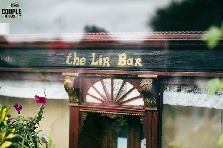 Cute miniature rendition of the Lir Bar. Weddings at Mullingar Park Hotel by Couple Photography.