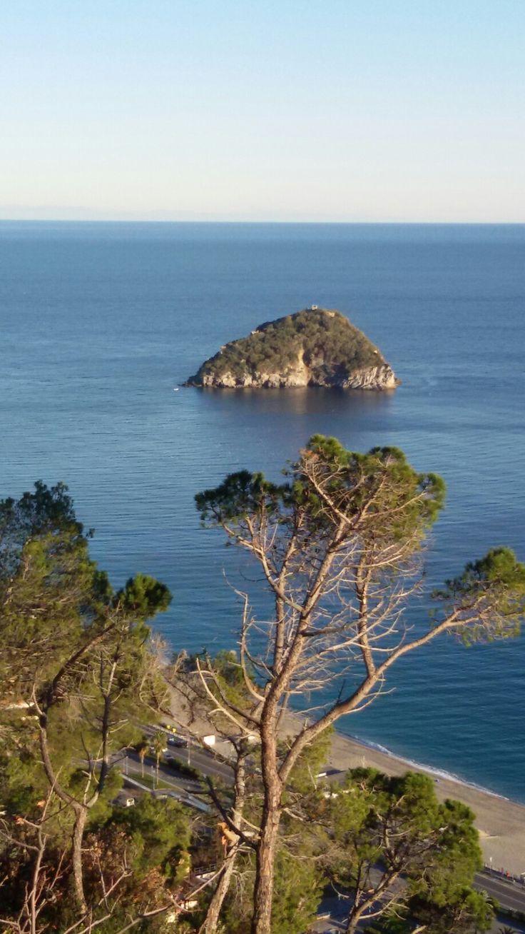 Bergeggi  island  in  Liguria  coast  by  luigi  rabellino