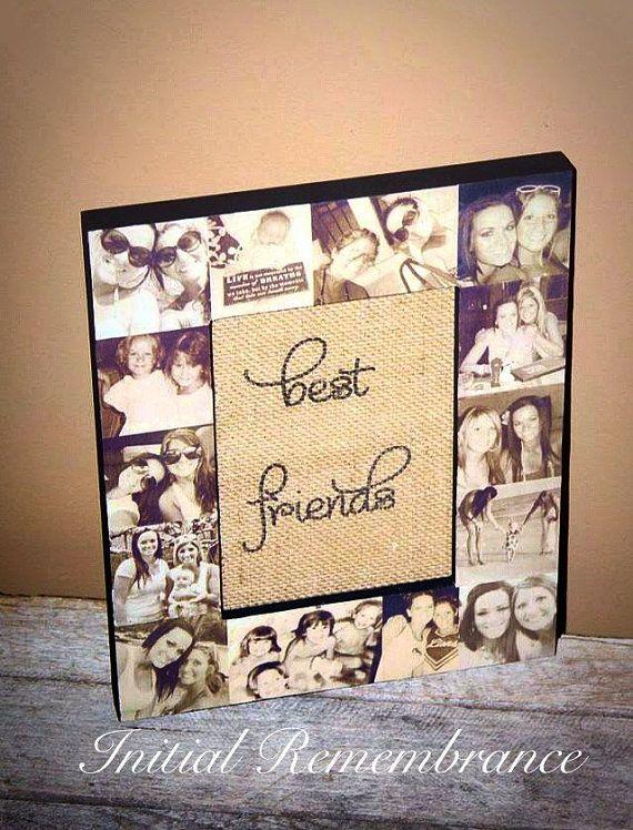 Picture Frame Collage Photo Frame Unique Best Friend Gift Parent