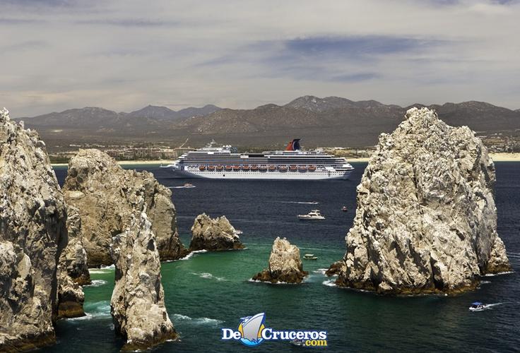 Carnival Cruises en Cabo San Lucas, México http://www.decruceros.com/navieras/1/1