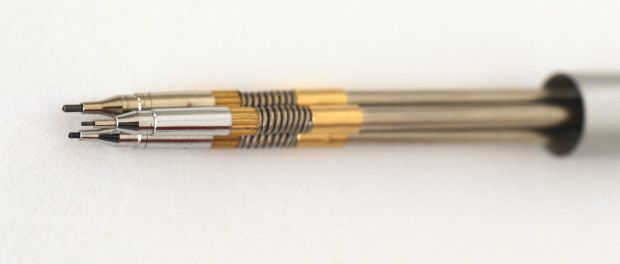 A mechanical pencil for artists, with 3 different lead calibers, and a mechanism based on gravity. | Crowdfunding is a democratic way to support the fundraising needs of your community. Make a contribution today!