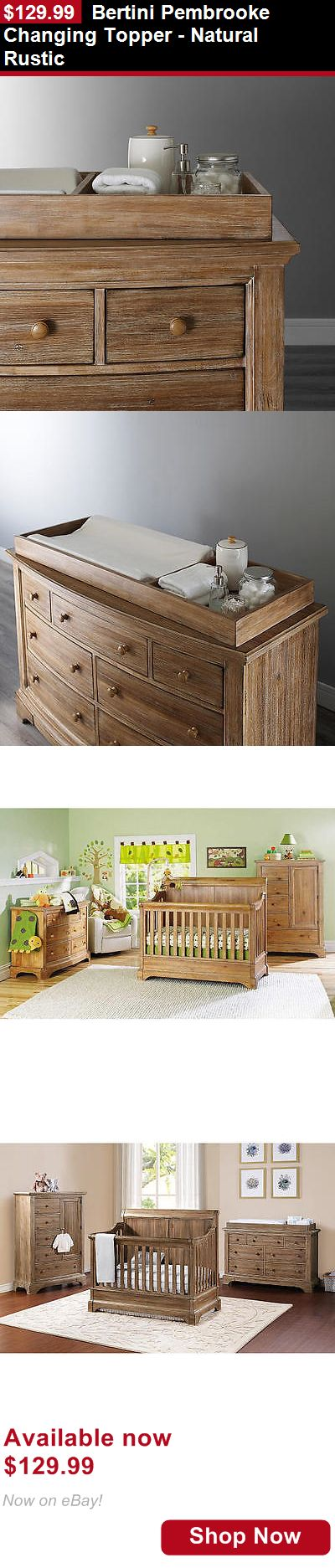 Other Nursery Furniture: Bertini Pembrooke Changing Topper - Natural Rustic BUY IT NOW ONLY: $129.99