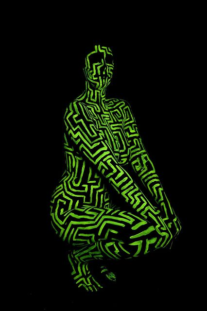 UV Body Paint Shoot - 07 by The Starglider, via Flickr
