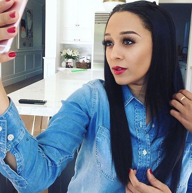WEBSTA @ tiamowry - 💋 Makeup- @juliannekaye Hair- @nakiarachon