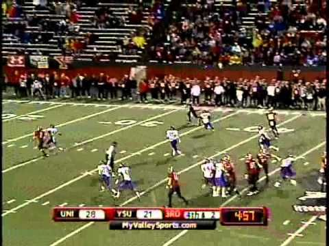 YSU-UNI Football Highlights | Sept. 22, 2012