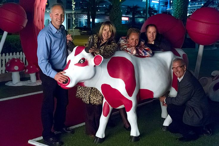 Finally we know where pink milkshake comes from...  ♥Madame Zingara's never ceases to amaze or wonder.... ♥