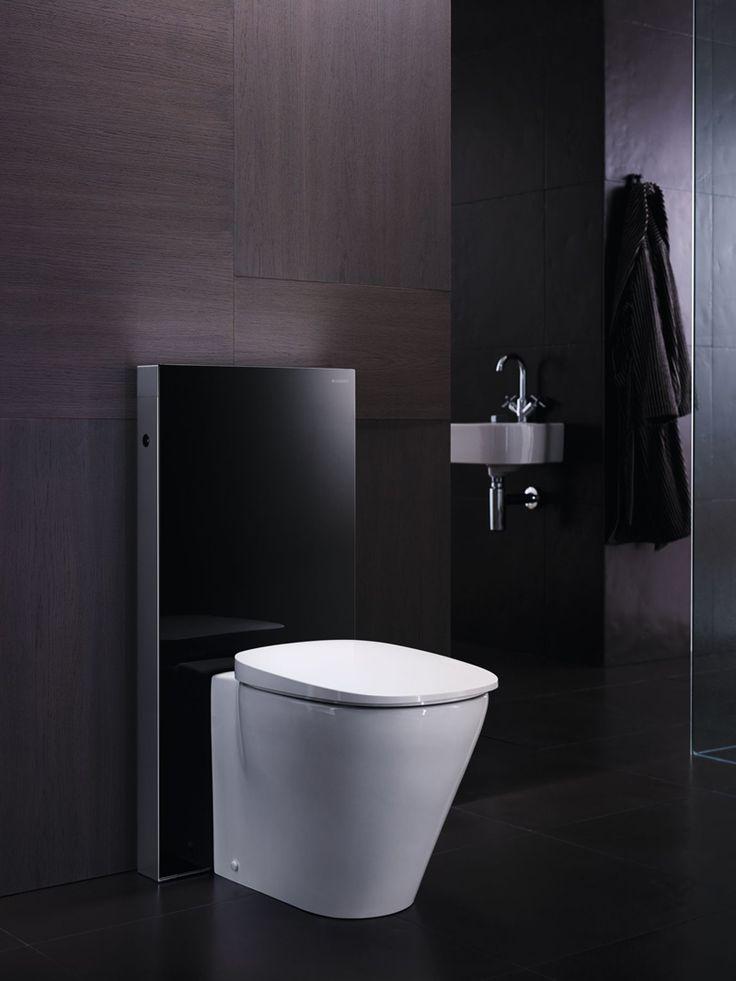 Geberit aporta diseño y calidad al baño con la cisterna vista Geberit Monolith. La imagen de tu baño totalmente renovada, sin obras y en muy pocas horas.