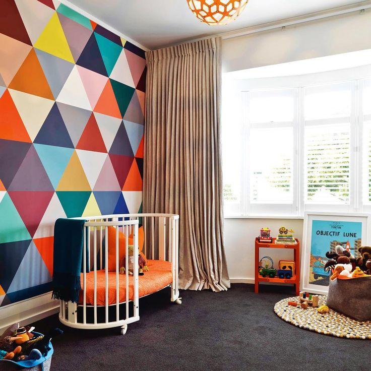 #kidsroom #nursery #colour #bright #genderneutral #nzhouseandgarden