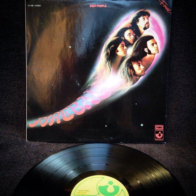 Deep Purple - Fireball1971, HOLLAND, Harvest 5C 062-92726Quinto álbum de Deep Purple, edición original de 1971, prensado en Holanda, en perfecto estado con inserto original, gran sonido!!
