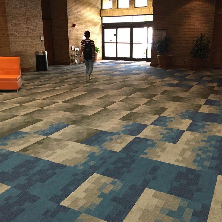 Tandus Centiva   Code Carpet Tile Installation