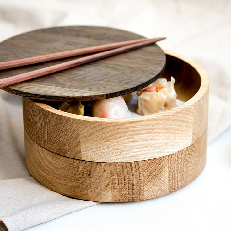 top3 by design - Sands Made - stacking bowl set No1 smoked oak