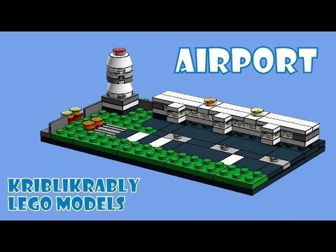 Mini LEGO Models - Mini LEGO Airport Model