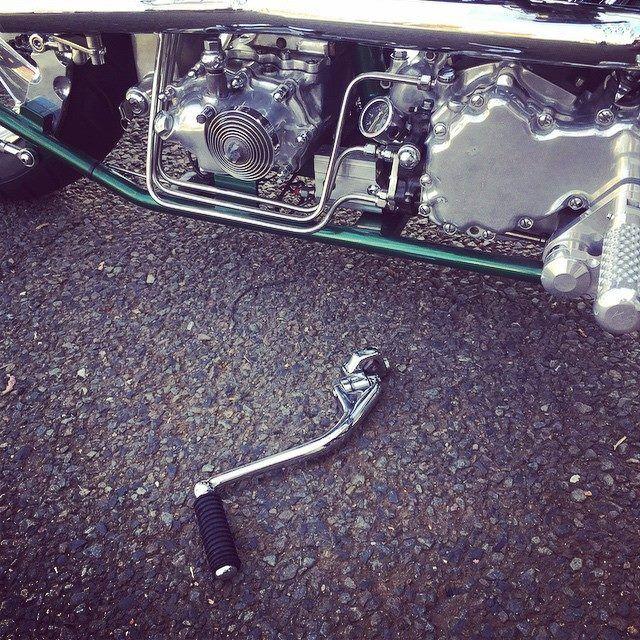 Shit happen with Stroker power #panhead #stroker#hardcore#chopper #detailscreatestyle #kensfactory