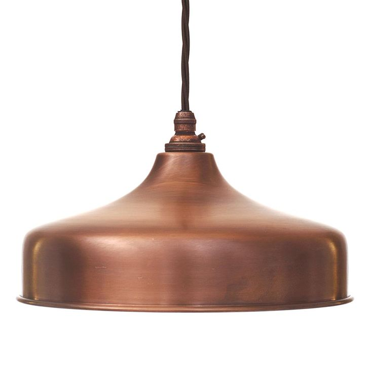 Exeter Pendant in Heritage Copper