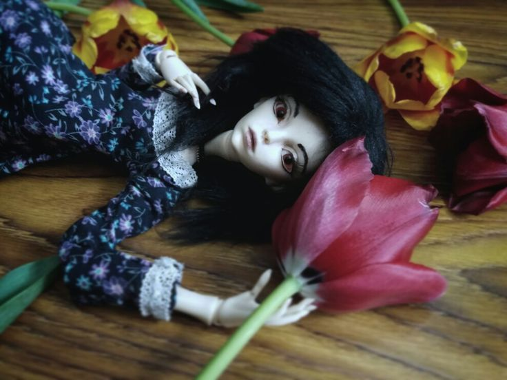 Flowers and bjd