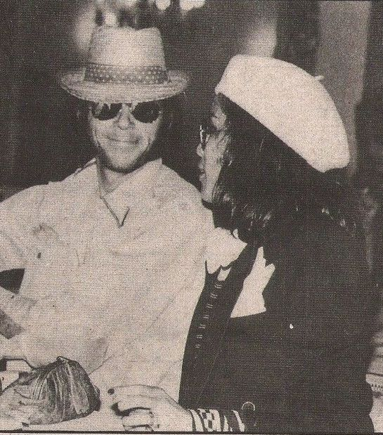 Neil Young and Bianca Jagger, 1975