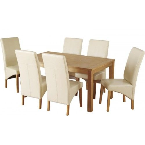 6 Dining Chairs And Table