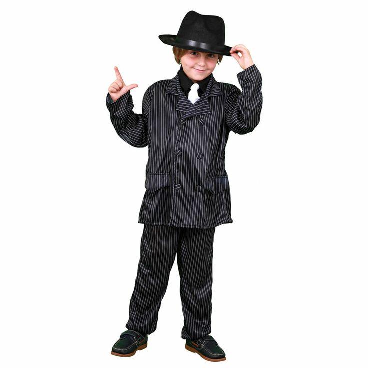 """Este nuevo disfraz de mafioso permitirá a los viajar al Chicago de los años 20 junto al famoso """"El padrino"""" con este elegante disfraz de gangster con el que nadie le quitará ojo en toda la fiesta. Disfraz disponible en 3 tallas. #disfraces #carnaval"""
