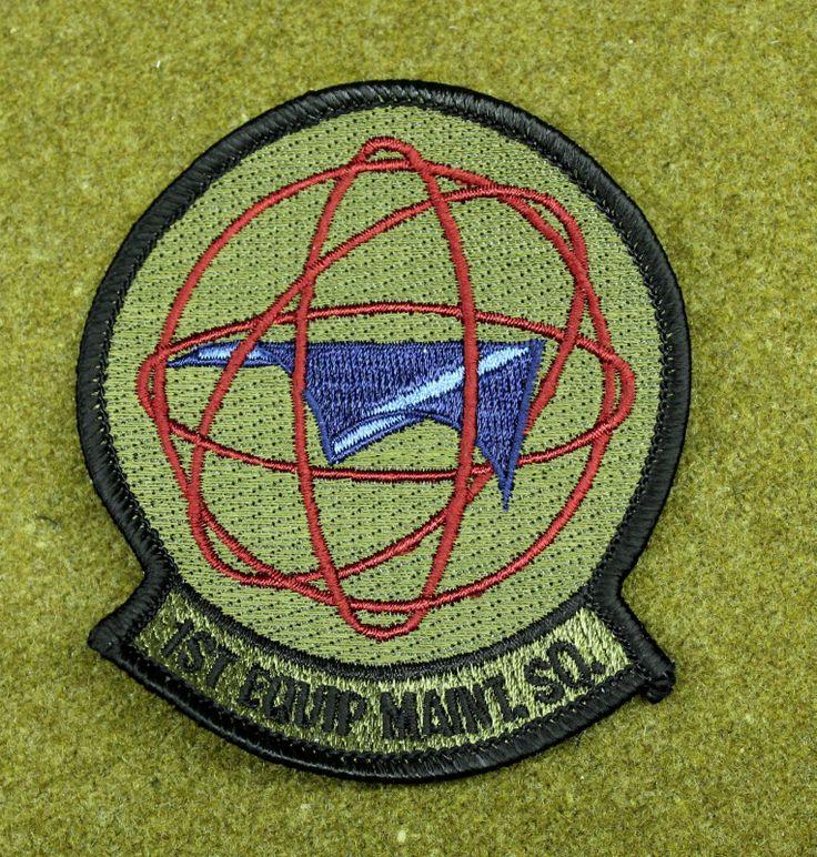 27383) Patch USAF 1st Equipment Maintenance Squadron Air