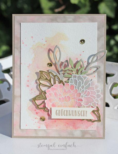 Rose Garden, Botanical Builder, So in Love, Stampin Up