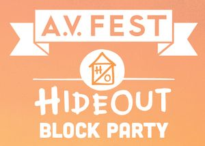 The Hideout Block Party & A.V. Fest - Tickets - The Hideout - Chicago, IL - September 7th, 2013