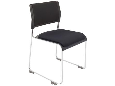 C03 - Office Chair with seat and back cushions in Black Tested to ANSI/BIFMA x 5.1 - Genera purpose office chairs - tests 3 Year Warranty
