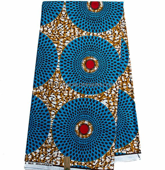 African fabric by the yard /Hollandais / fabric wholesale /