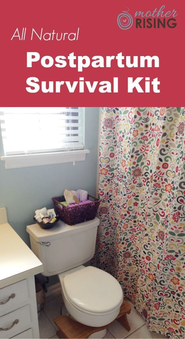 After spending a week with my adorable new baby, and plenty of visits to the bathroom, for whatever reason I really wanted to share with you what I would consider a postpartum survival kit, in regards to our tender lady bits that is.
