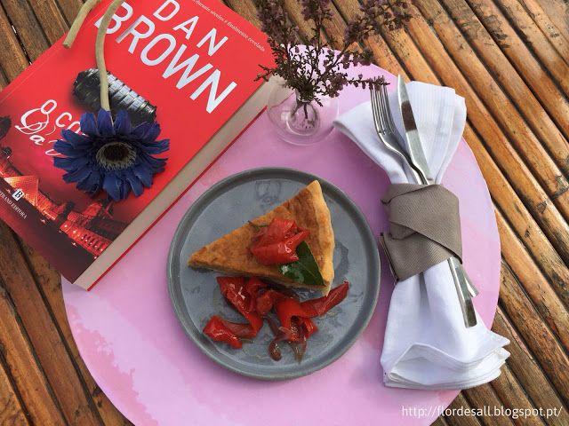 Flor de Sal: Um brunch com amigos e uma tarte de alheira e maçã...