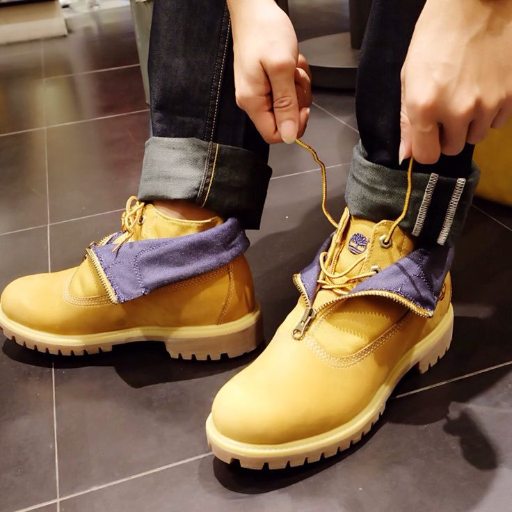 The shoes you wear can say so much about you  Shoes by Timberland, TSM 1st Floor