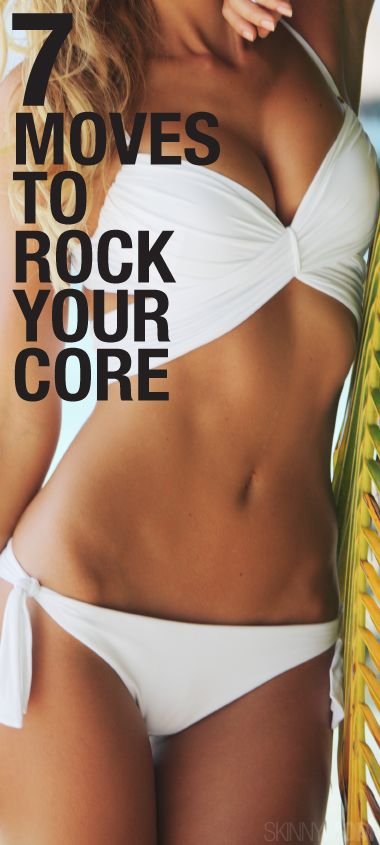 Here are 7 moves to get that core nice and tight for summer.