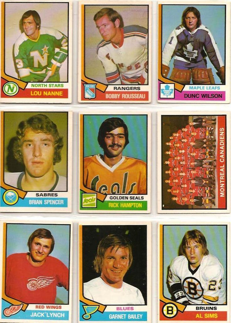 325-333 Lou Nanne, Bobby Rousseau, Dunc Wilson, Brian Spencer, Rick Hampton…