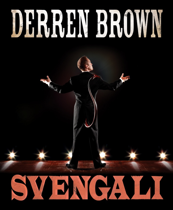 Derren Brown Tour Poster 2011