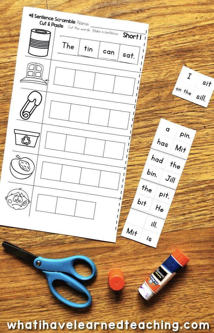 Short I Phonics Worksheets Short I Cvc Words Kindergarten Word Work Centers Word Work Kindergarten Phonics [ 1128 x 725 Pixel ]
