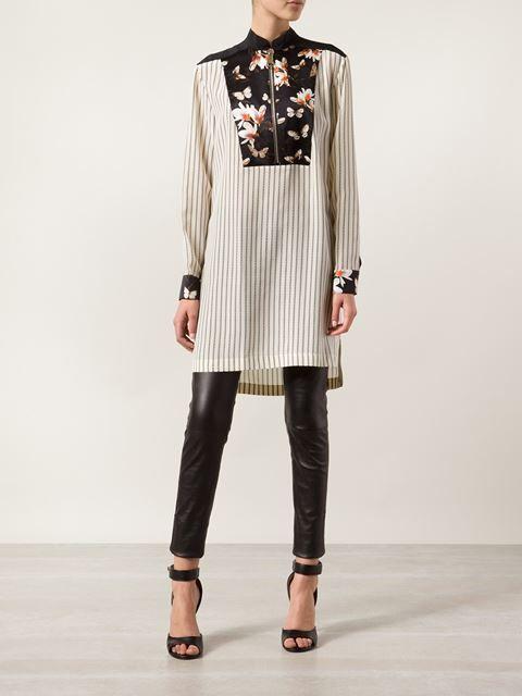 Givenchy Длинная Блузка С Цветочным Нагрудником - Dante 5 Women - Farfetch.com