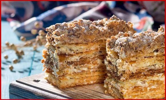 A Napóleon torta sokak kedvence, készítsd el nyugodtan, imádni fogják! Most egy kicsit különlegesebb változatát mutatjuk, ropogós lapokkal készül, és ez az