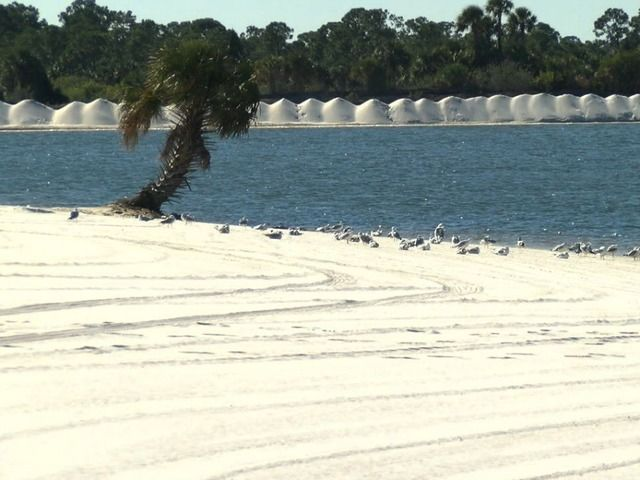 SunWest Park brings white sand beach to Pasco County.. White sand, crystal clear water. And you don't have to go to the beach to enjoy it.