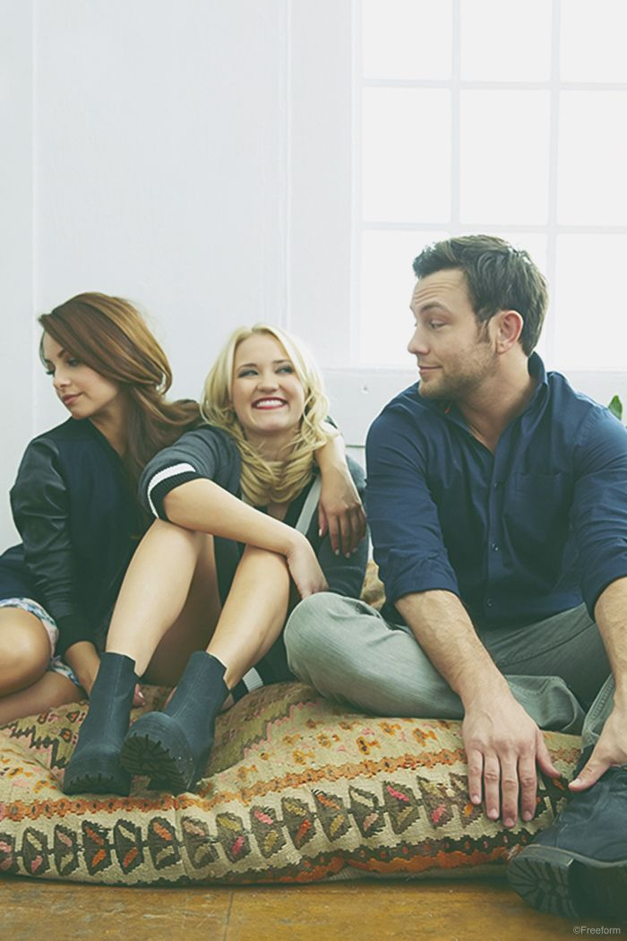 Embrace change. // Aimee Carrero, Emily Osment, and Jonathan Sadowski star in Young & Hungry, only on Freeform.