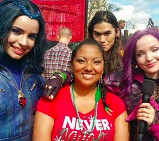 Dove, Sofia, Booboo and a fan
