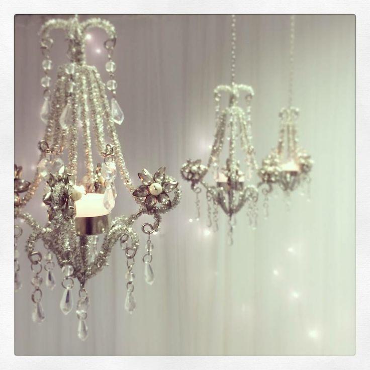 Pearl Chandelier Hanging Lantern