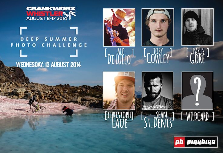 Are YOU the wildcard?? Deep Summer #Photo Challenge @Crankworx #Whistler Wildcard Contest Open now  http://ow.ly/xUfX6