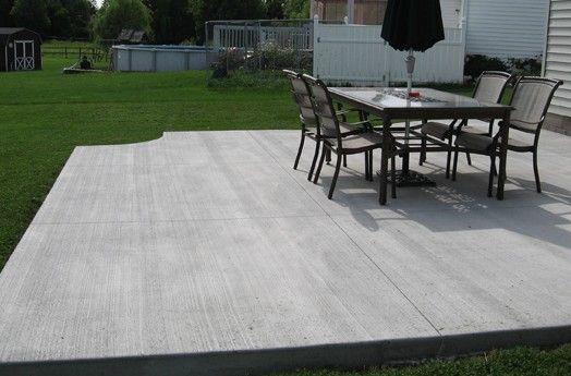 Concrete Patio Cost On Pinterest Concrete Patio Cost Concrete