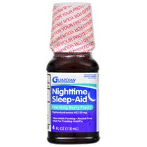 Bulk Guardian Warming Berry Nighttime Sleep Aid, 4 oz. at DollarTree.com
