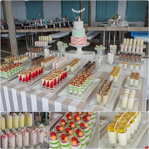 mousse wedding dessert bar