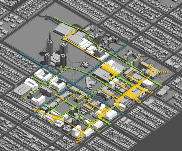 University of Wisconsin Milwaukee Master Plan - Corneil Collaborative Urban Design and Campus Planning